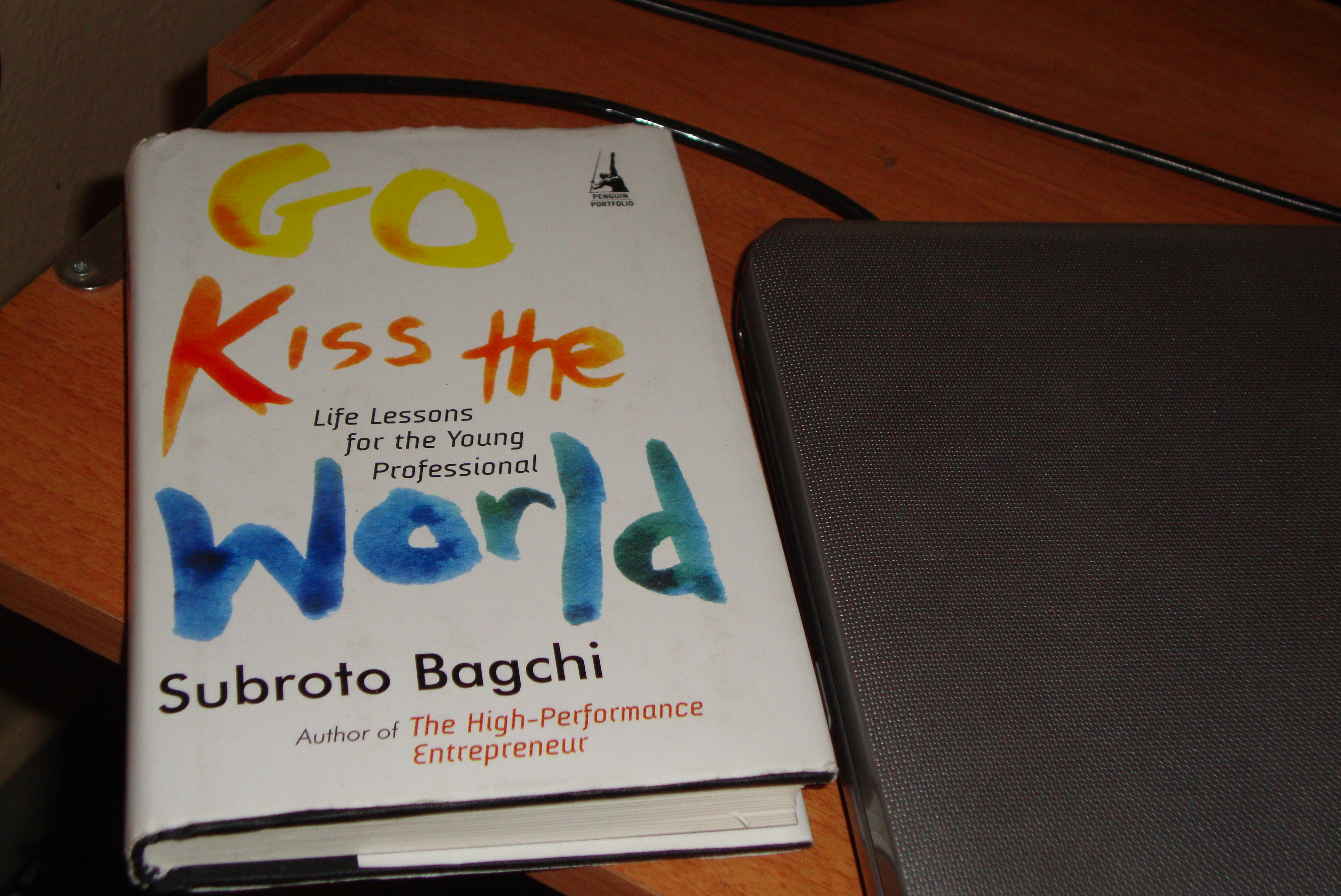 My Copy Of Go Kiss The World Book ��